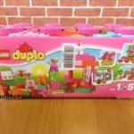 [女の子]初めてのレゴブロックピンクのコンテナデラックス